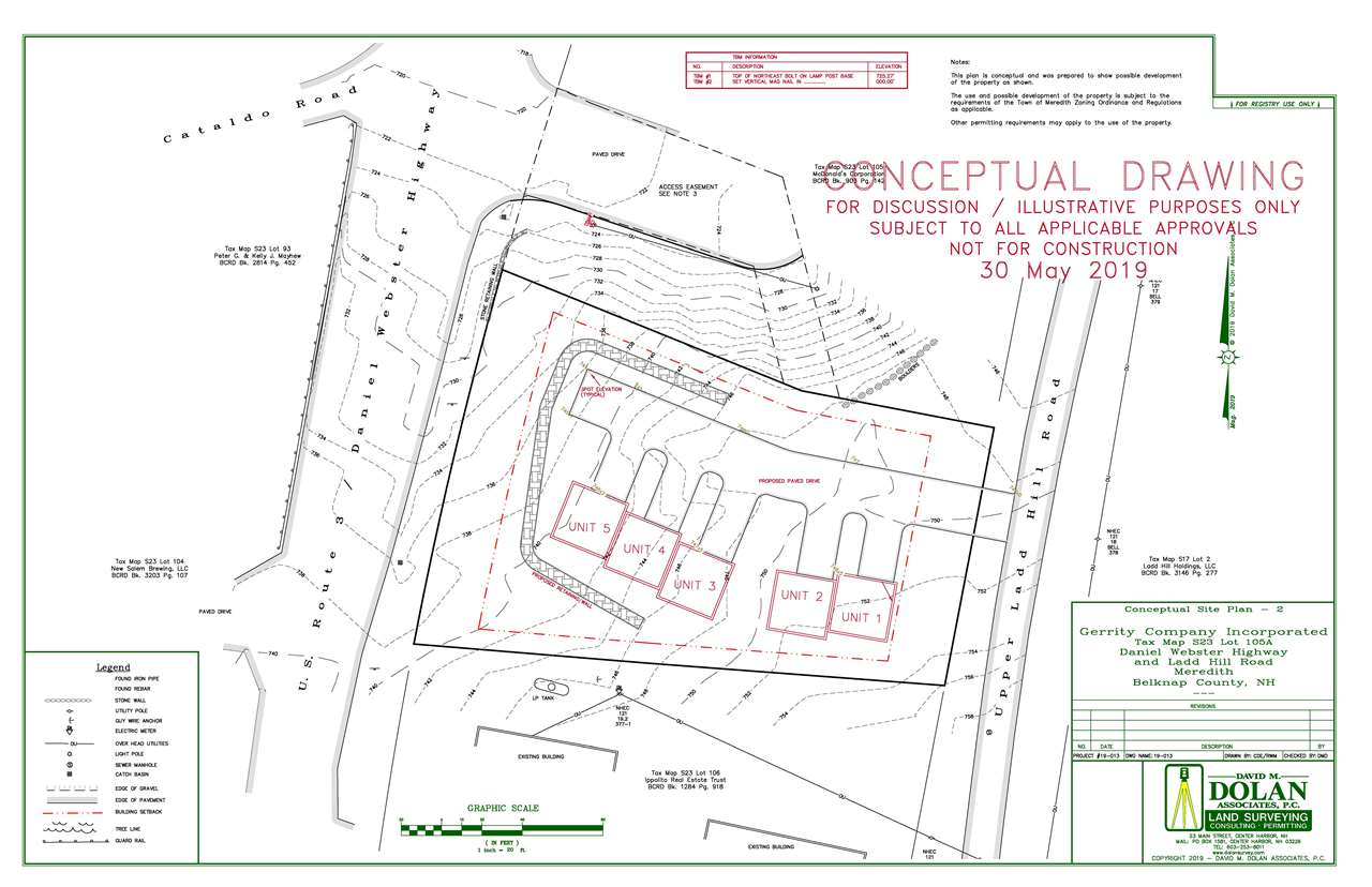 MEREDITH NH LAND  for sale $389,900