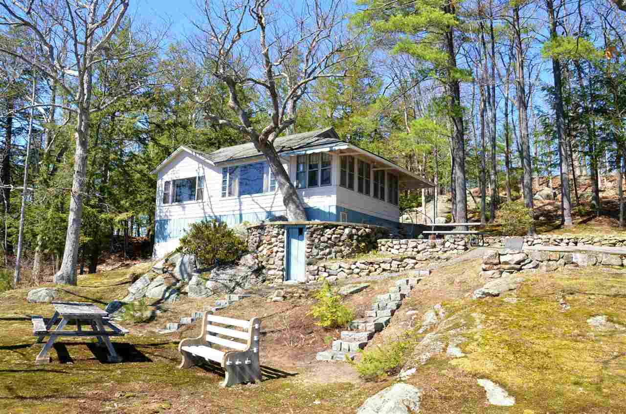Lake Winnipesaukee waterfront home for sale in Laconia
