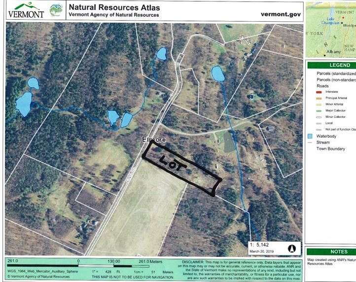 Property for sale at 0 King Road, Elmore,  VT 05657