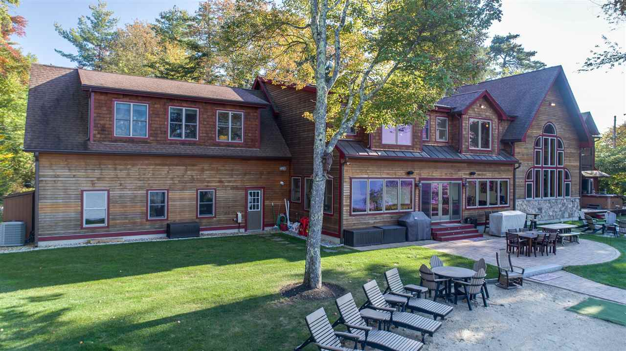 MLS 4742978: 140 Swallow Point Road, Moultonborough NH