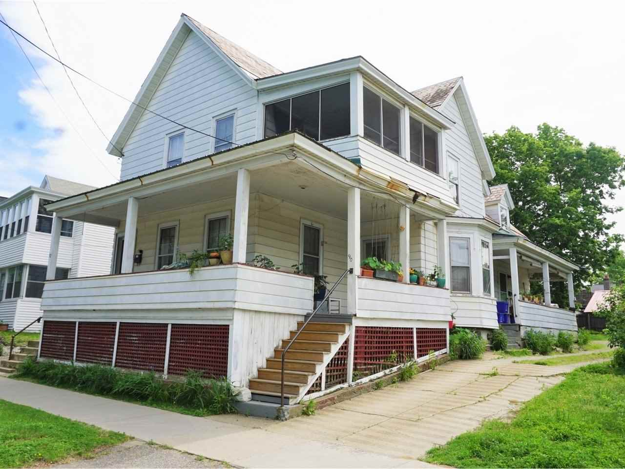 Strong upside on rents! The convenient Old North End is quickly establishing itself as Burlington's next premier neighborhood. Buyers have identified the O.N.E. as one of the best place to live and invest. Only a few blocks from Church Street, this 3-unit Multi Family is even closer to Taco Gordo, Butch and Babes, and the Barrio Bakery, some of Burlington's newest, hottest cafes and restaurants. A great location combined with spacious units, separate utilities and off-street parking attract tenants, owners and investors alike.