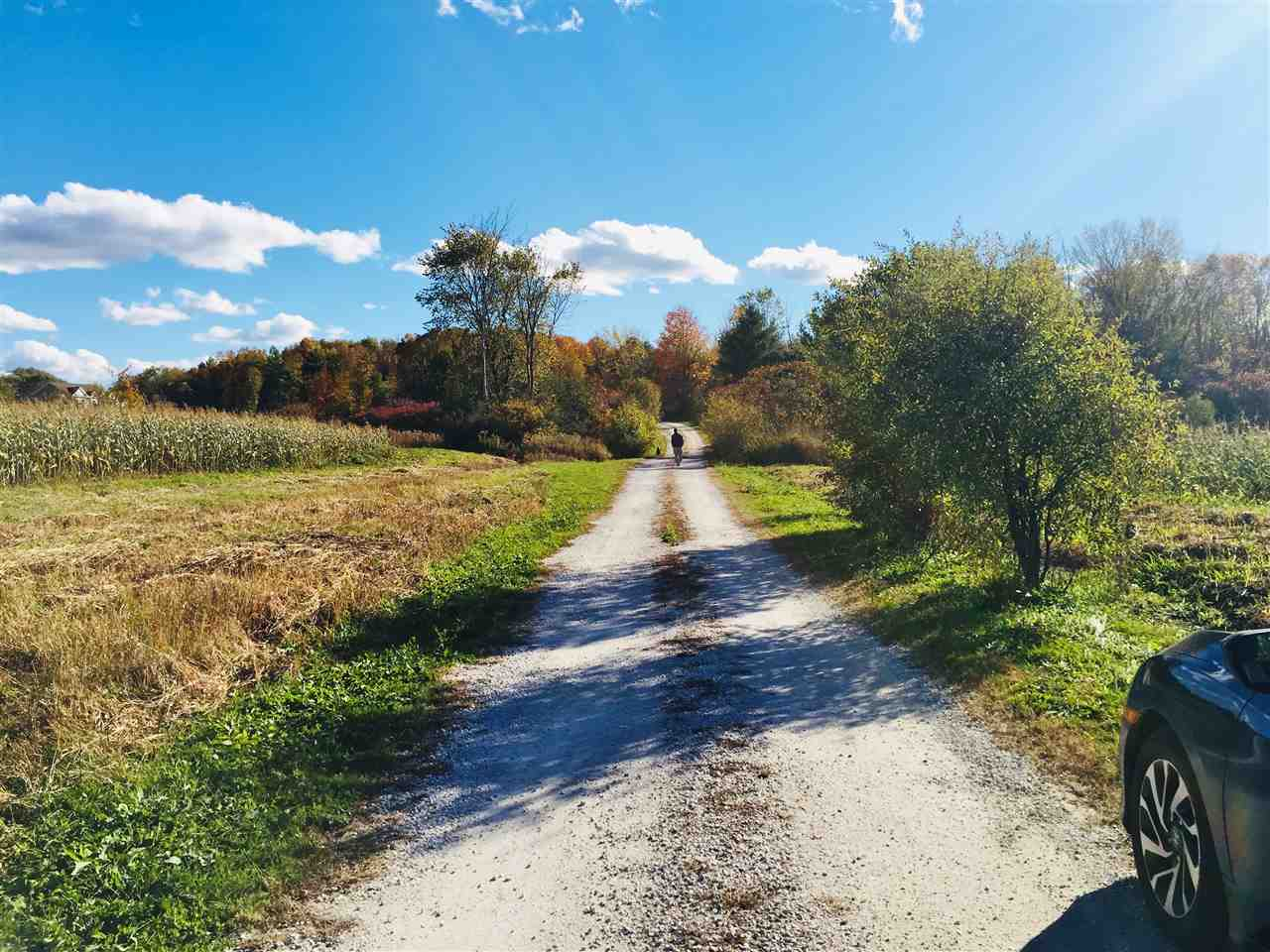 Beautiful 38.8 acre building lot in Shelburne.  Ready to build, Lot 2, part of a 2-lot private community, boasts end-of-road privacy.  Site will include a new gravel access road with underground electrical and internet service lines on site.  Land supports agriculture and horses.  State approved waste water permit (WW-4-2651-1) in place.  This open lot is close to Shelburne Pond (fishing, skating, boating), walking trails and the VAST trail.  Easy access to Rt. 116, Burlington International Airport, UVM Medical Center and CVU.  Other building lots also available.