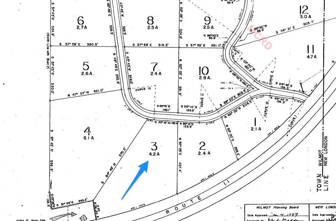 Lot 48 Dean Rd and Hoyt Brook Rd, Danbury, 03230 | Peabody