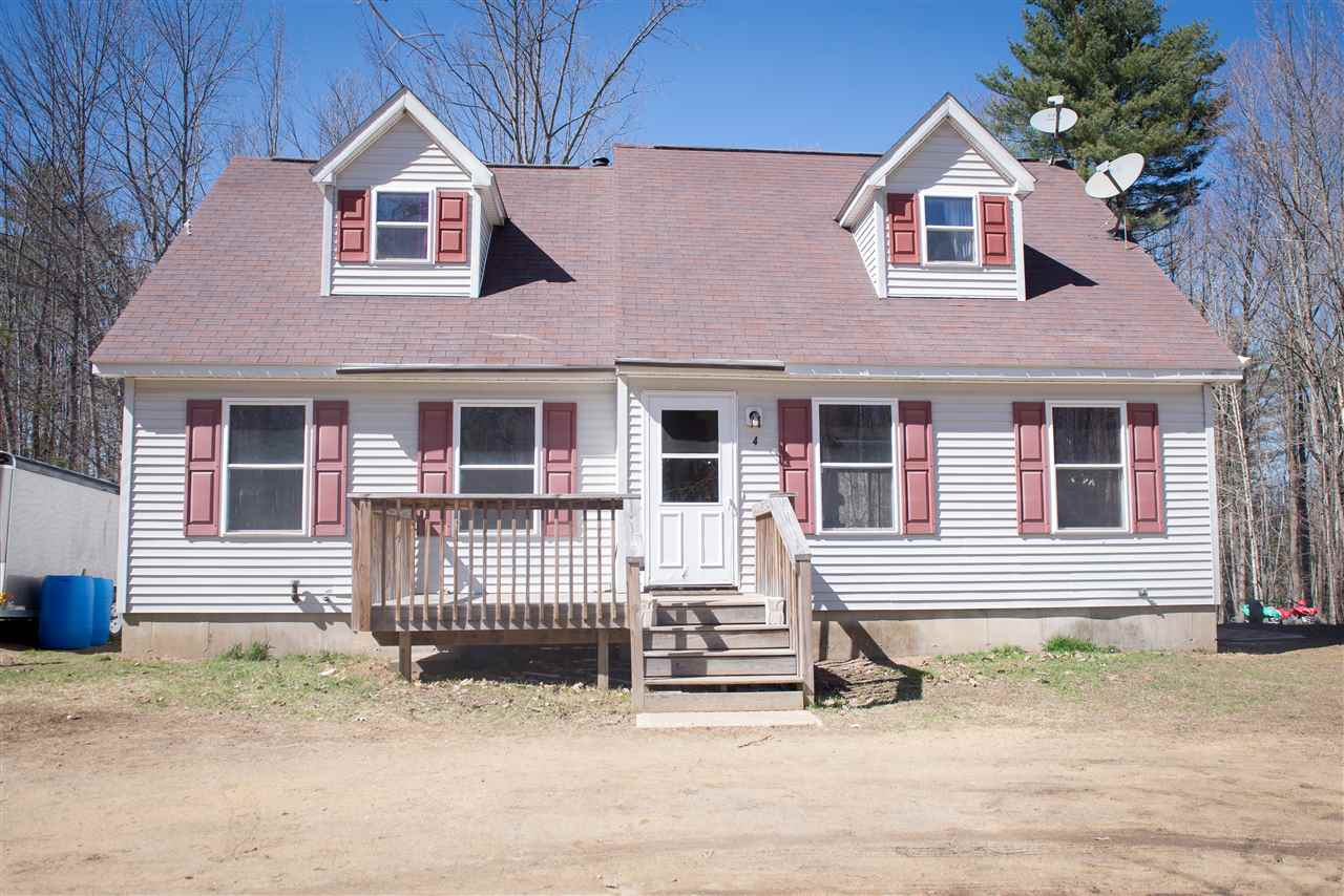 Sanbornton NH  waterfront home for sale