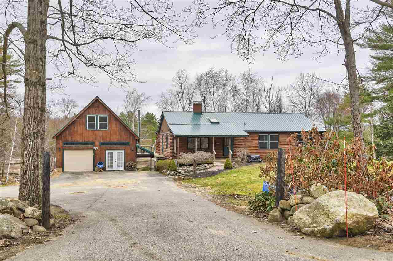 Log Cabin Home on 3 acres