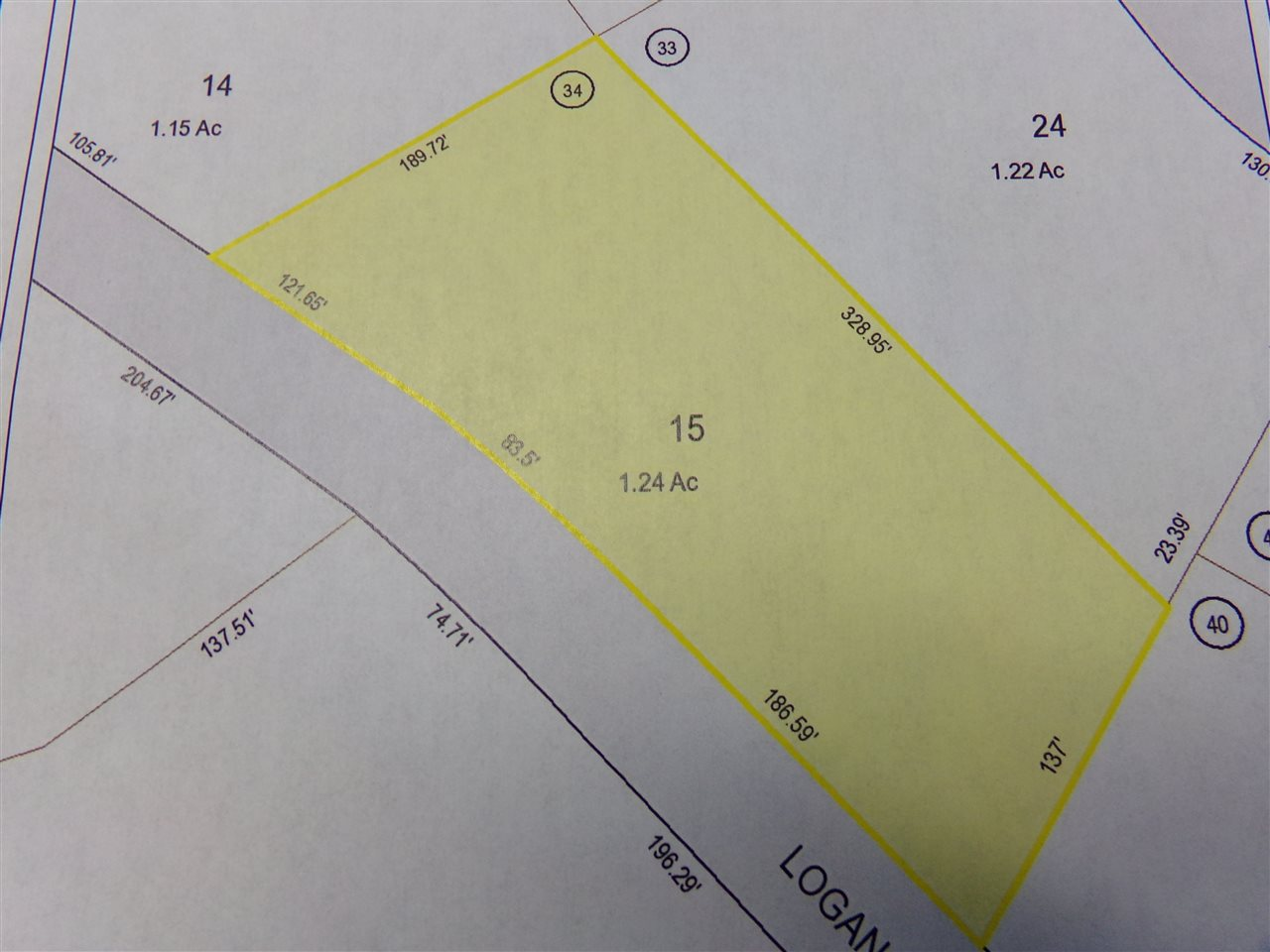 VILLAGE OF WEST OSSIPEE IN TOWN OF OSSIPEE NH LAND  for sale $44,000