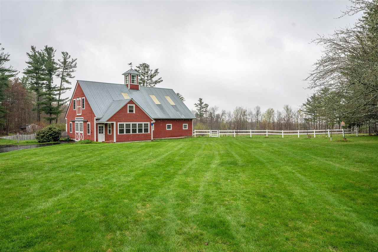 Chester NHHorse Farm | Property  on Small private pond