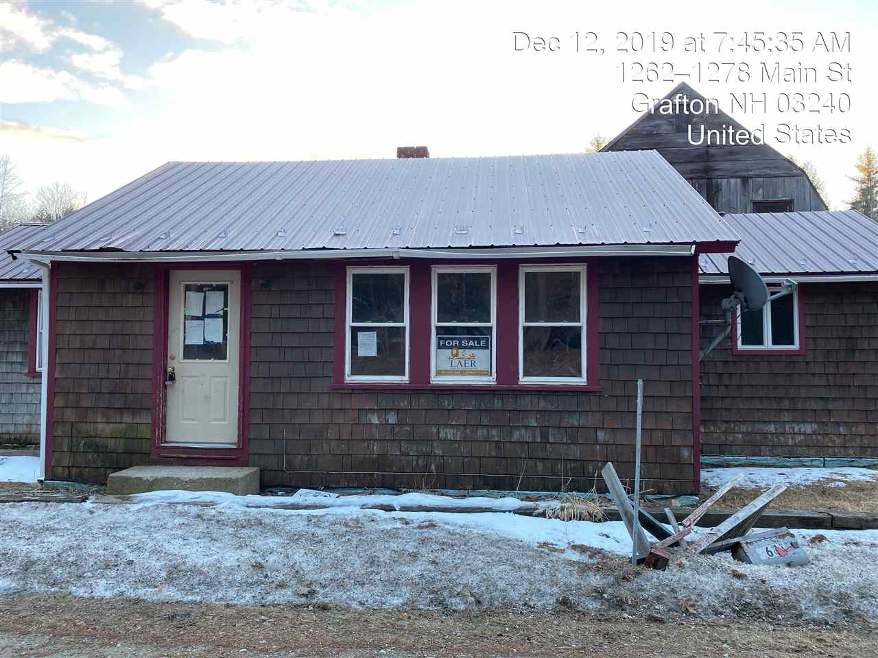 GRAFTON NH Home for sale $$44,900 | $25 per sq.ft.