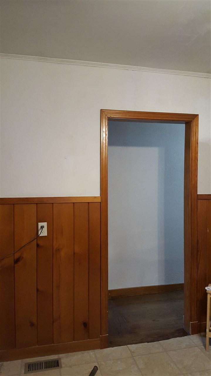 Kitchen into hallway