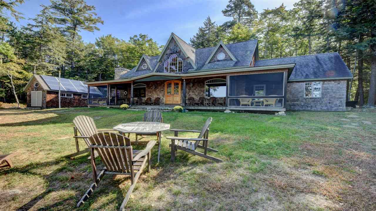 Lake Winnipesaukee waterfront home for sale in Gilford