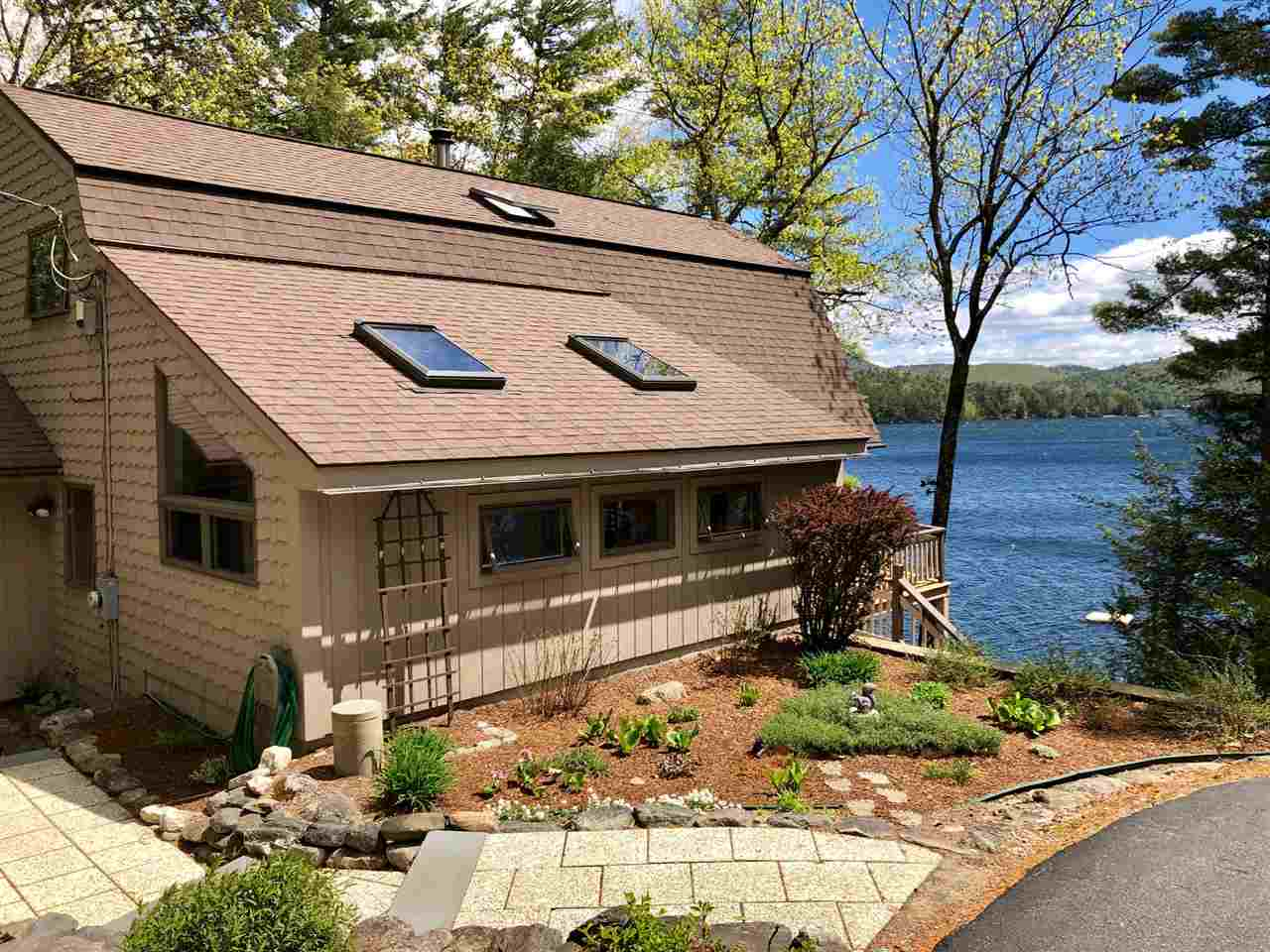 Lake Merrymeeting waterfront home for sale in New Durham