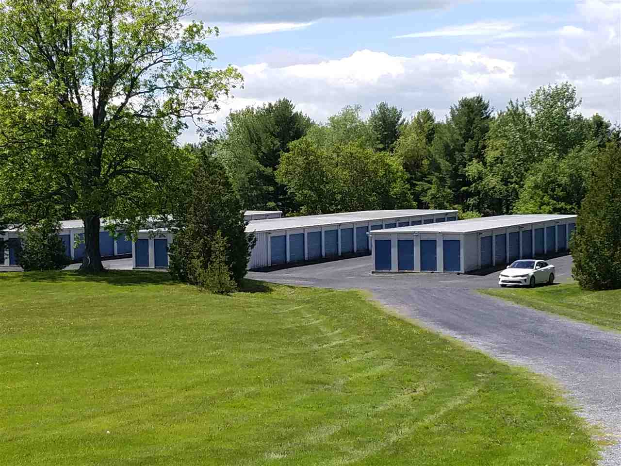 An opportunity to own a well established and attractive storage facility on one of the most traveled roads in the state.  It is visible, yet well landscaped.  The large lot allows for future expansion or other commercial uses.  Note that 1 - 20 x 30 unit is not listed on the rate sheet as currently available for rent; it is used by a former owner , but per the Deed, it must be vacated upon sale and would become available to rent increasing the Gross Income.