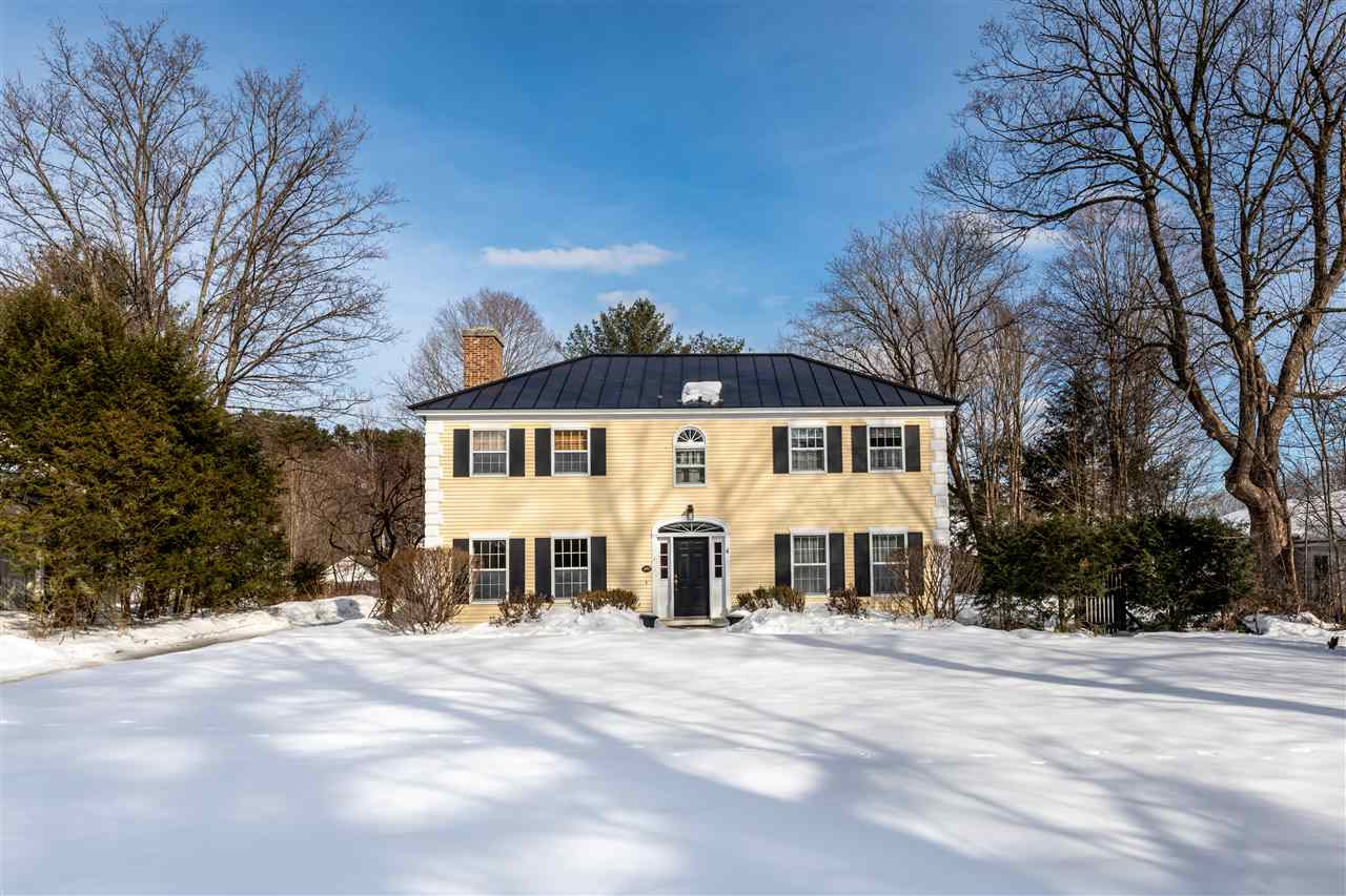 Norwich VT Home for sale $List Price is $1,025,000