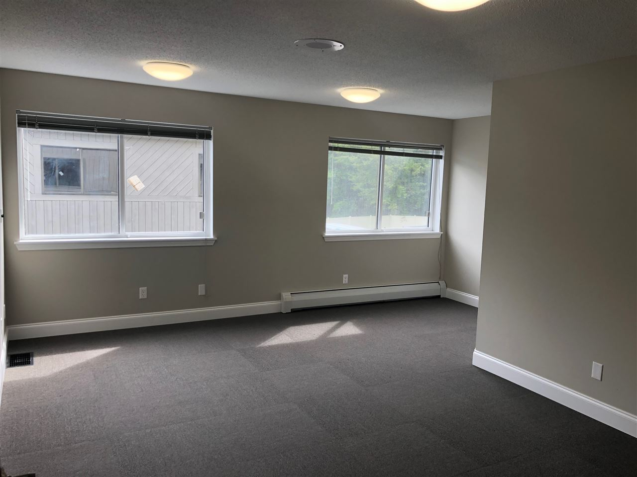 Terrific newly renovated office space. Square footage range from 213 sqft to 556. Some have lake views. Convenient location at Bayside Park, Colchester. Plenty of parking. Available today. Rent is one payment of $284/ mo to $741/mo. We have 8 offices available if you require more than one space. One office has full bathroom. Heat, AC, Electric, Water, Sewer, Plowing & Trash included.