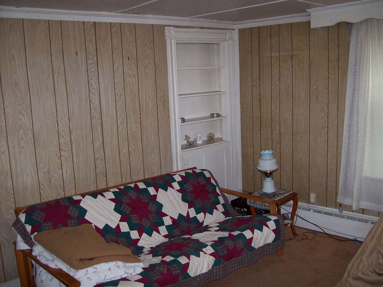 Living Room with Built In Hutch