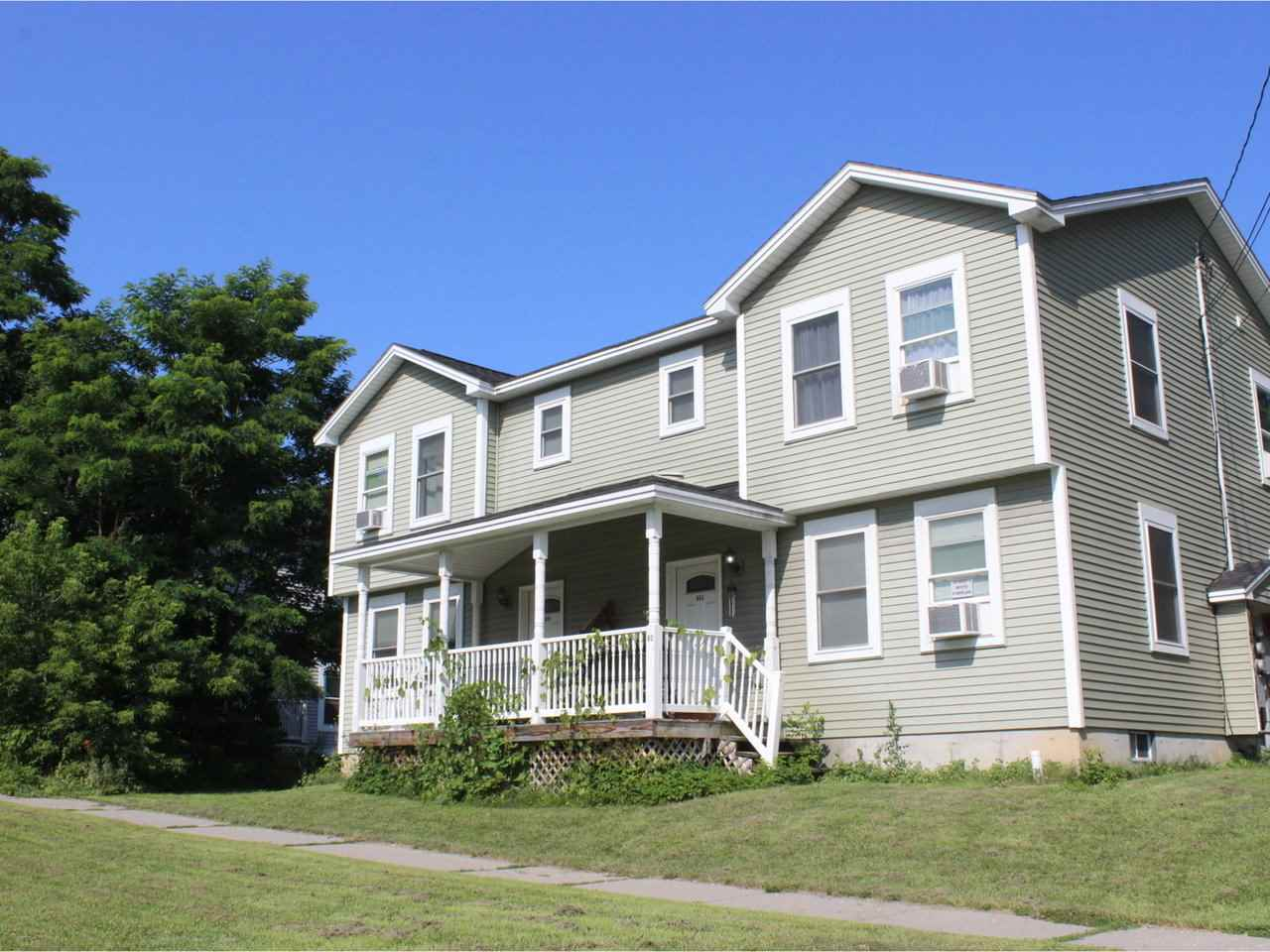 Built in 2013, this duplex is a GREAT opportunity to live in one side and let your tenant in the other side pay your mortgage. Three bright bedrooms on each side, beautiful hardwood, with ample space and storage. Convenient location, easy to get to town with all that Vergennes has to offer. Town water and sewer, with a large four car garage. Solid investment!