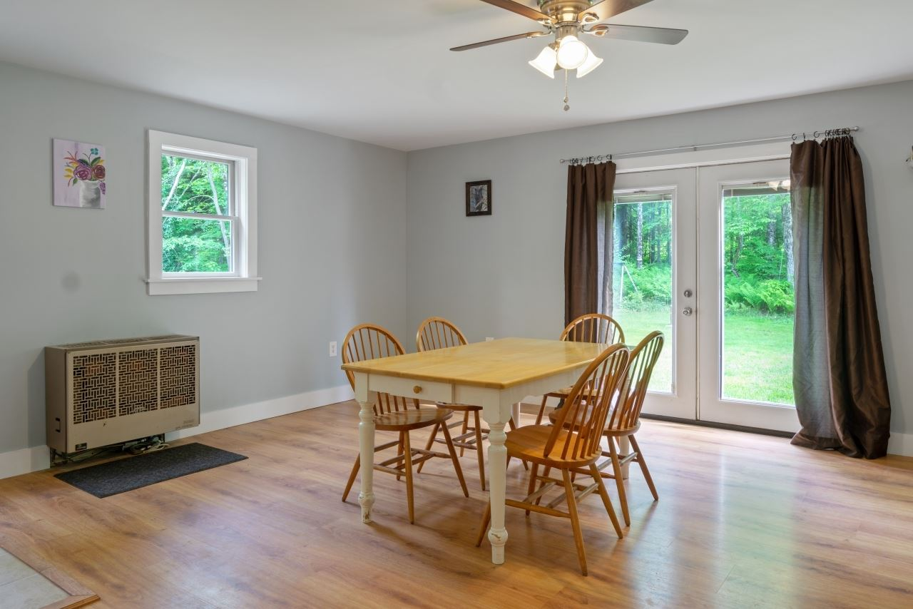 Dining Area with access to backyard