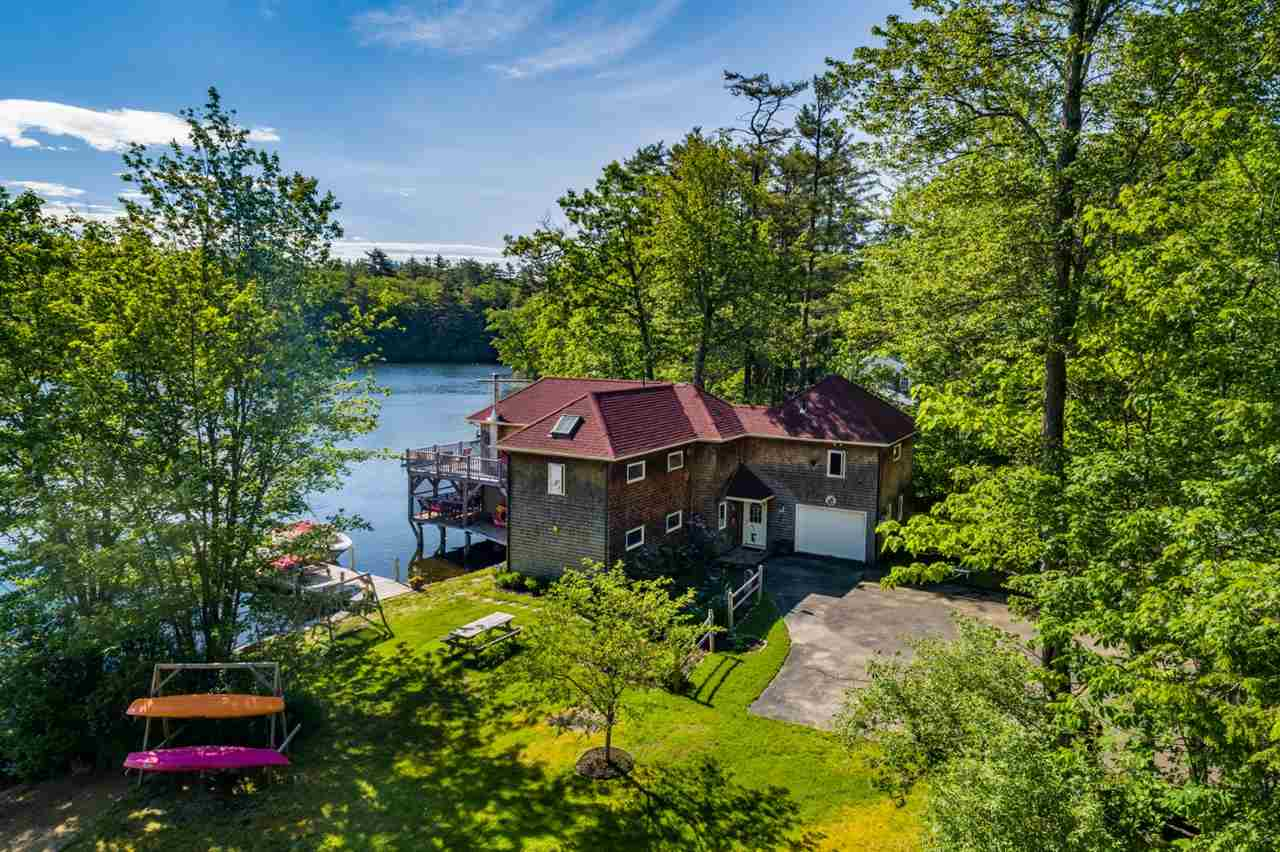 Lake Winnisquam waterfront home for sale in Tilton