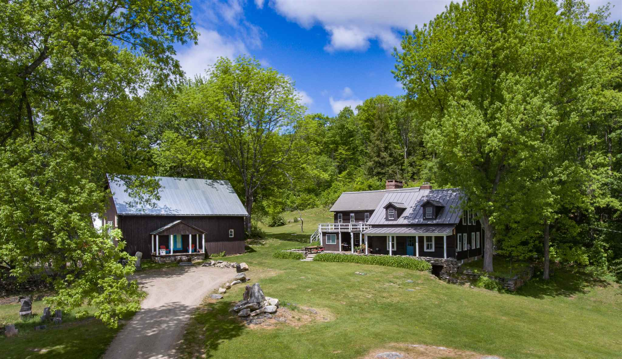 Chester VT Horse Farm | Property  on private
