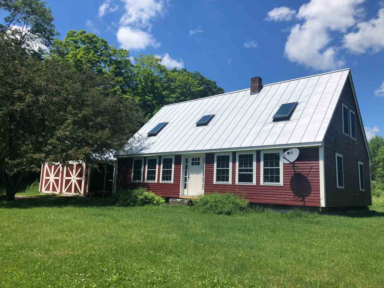 SHARON VT Lake House for sale $$269,000 | $166 per sq.ft.
