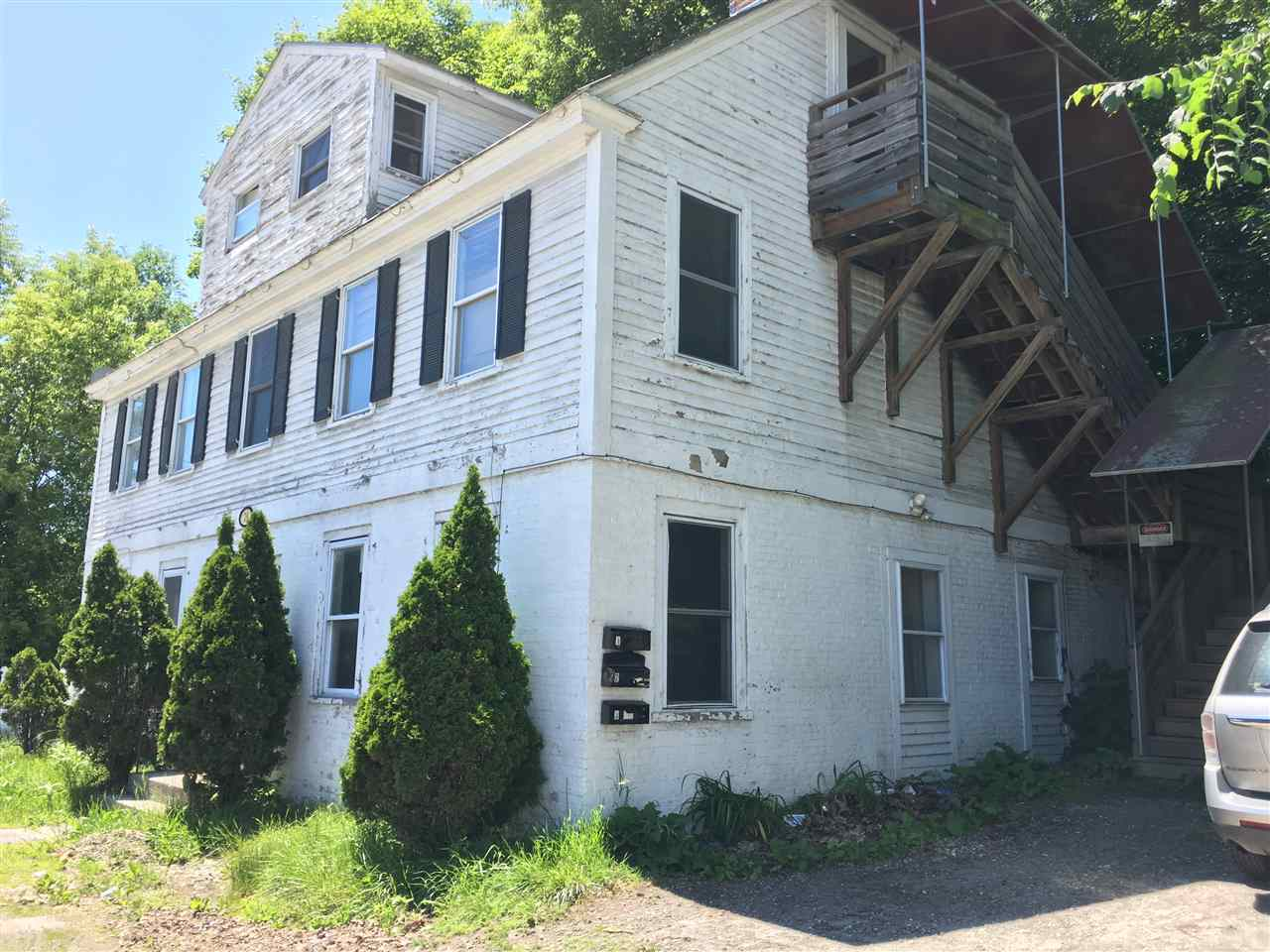Claremont NH 03743Multi Family for sale $List Price is $60,000