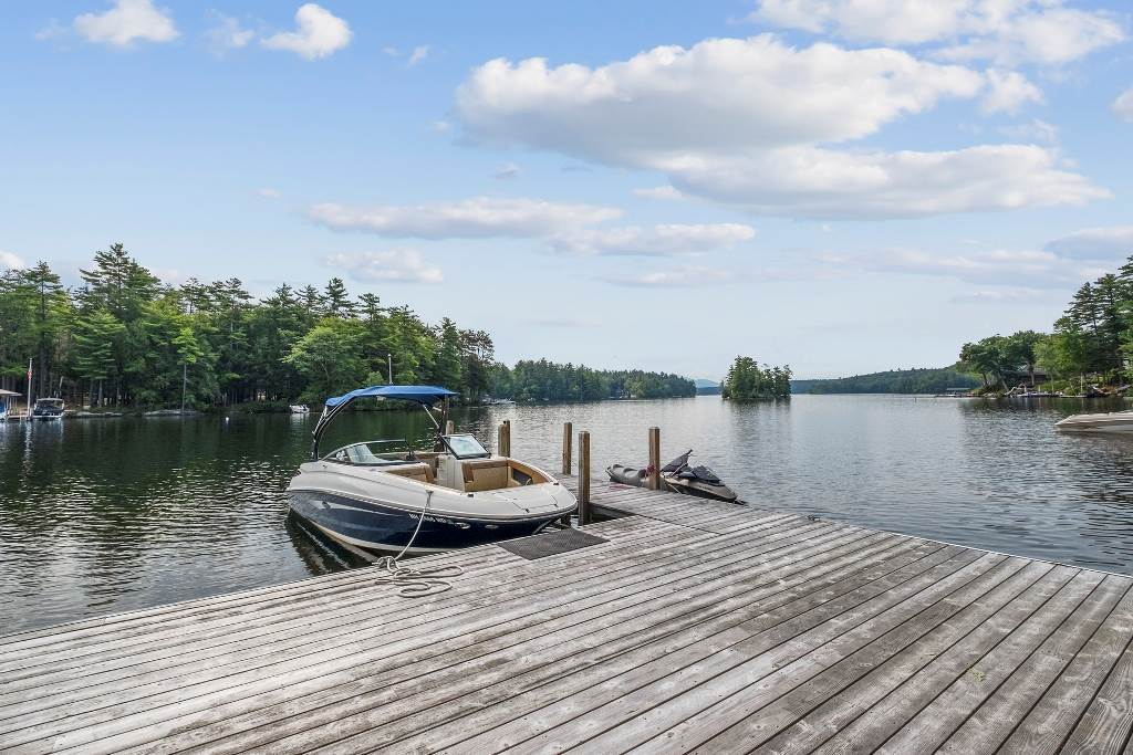 Lake Winnipesaukee waterfront home for sale in Meredith