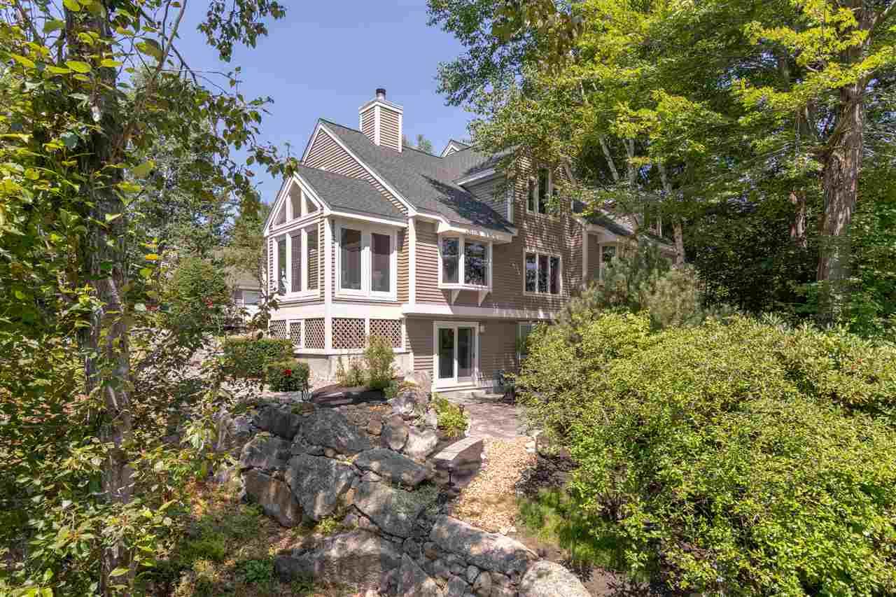 Meredith NH Lake Winnipesaukee waterfront home for sale