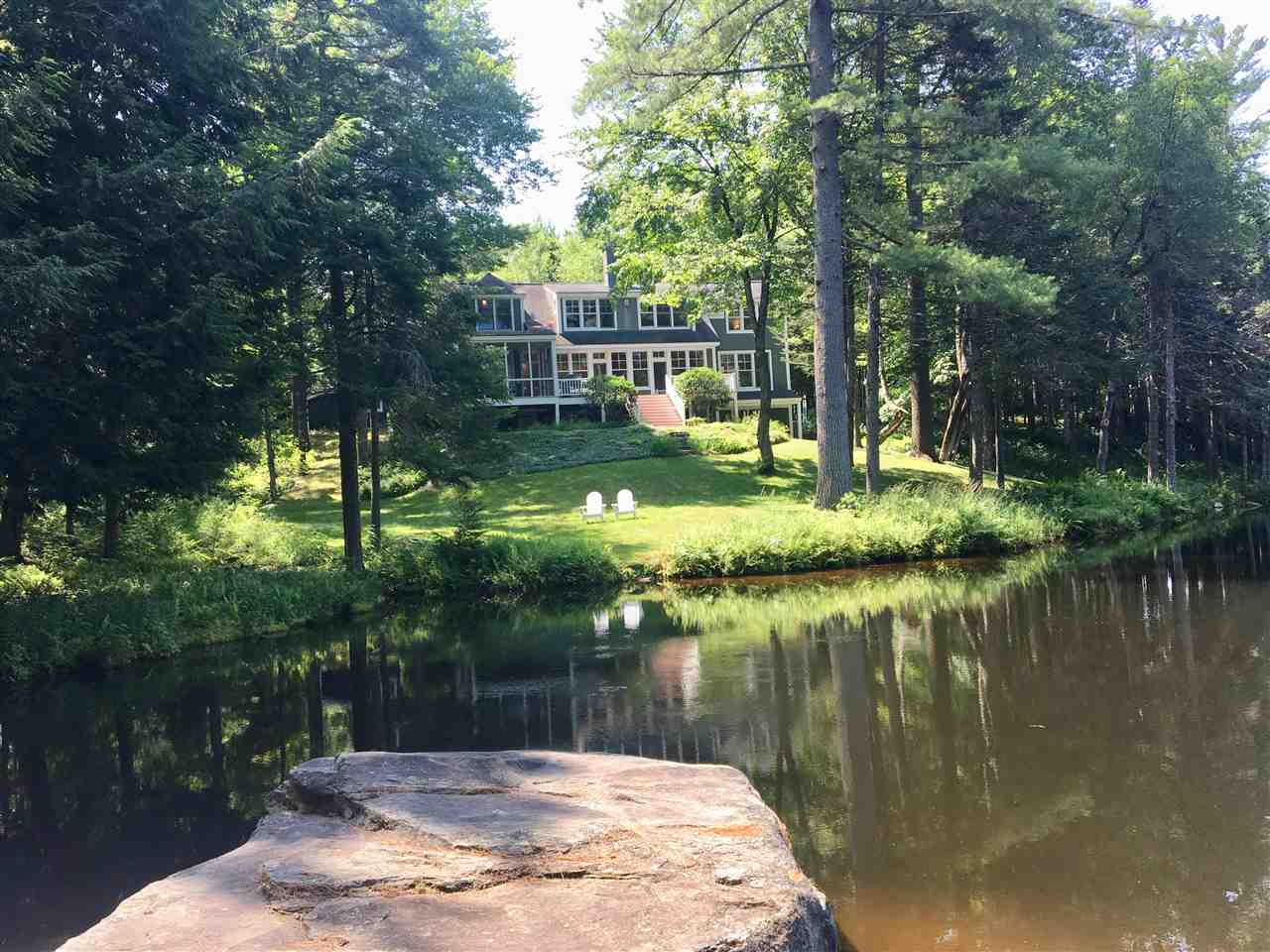 LYME NH Lake House for sale $$1,100,000 | $307 per sq.ft.