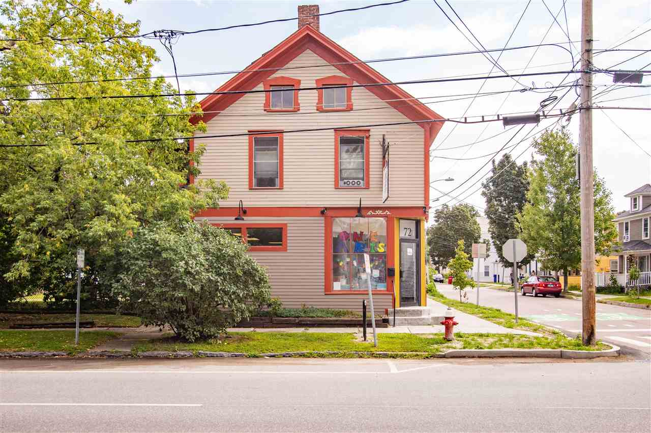 A great opportunity to live right above your business and receive additional income. This well maintained three unit is conveniently located in the heart of Burlington. The downstairs features 1400 square feet of commercial space which is currently being used by One Arts Center. The upstairs features a one and two bedroom apartment both of which have been completely renovated. There is a full basement, two storage areas and ample parking. Many improvements over the years including new kitchens, baths, flooring, painting, roof, siding and windows. Walking distance to downtown. Let a piece of Burlington's past be a part of your future.