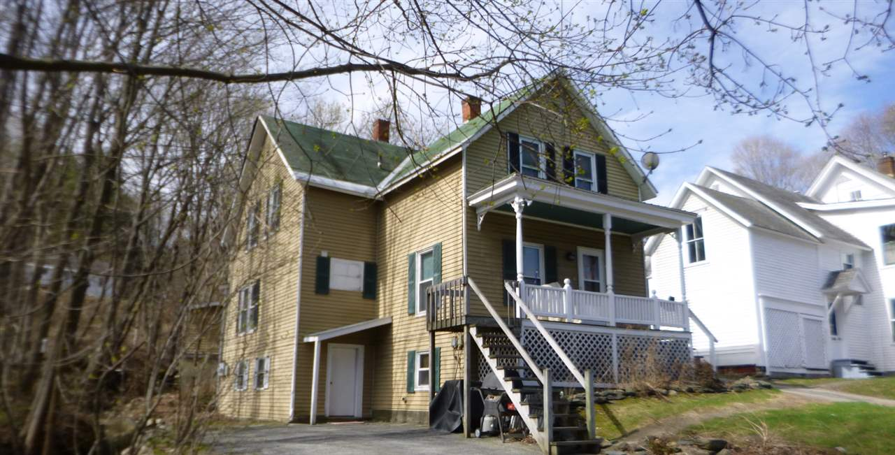 Springfield VT Multi Family for sale $List Price is $115,000