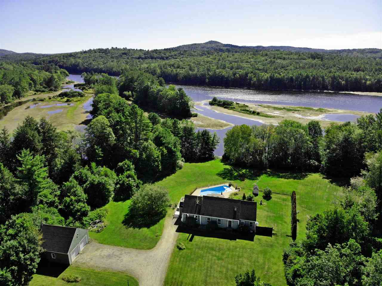 River Pemigewasset River waterfront home for sale in Bristol