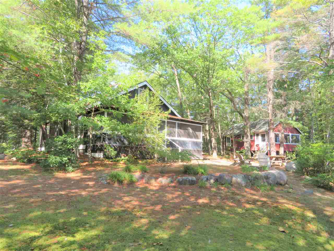 Lake Little Squam waterfront home for sale in Holderness