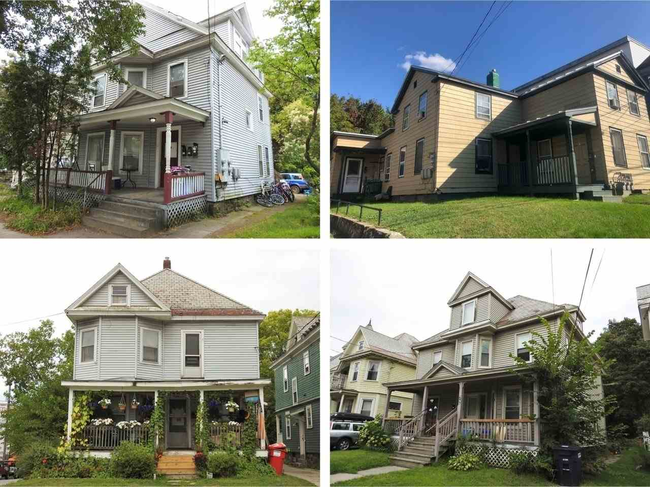 Special opportunity to establish yourself in the Burlington rental market with this four-property investment portfolio. Each of these rentals is in a great location attractive to all types of tenants including students with proximity to Church Street, colleges, the University of Vermont Medical Center, and the bustling Winooski Circle. Consisting of three Triplexes and a Single-Family residence, the portfolio offers a mix of units from studios to a 4-Bedroom house with significant upside all around. Seize the chance to take this portfolio to the next level!