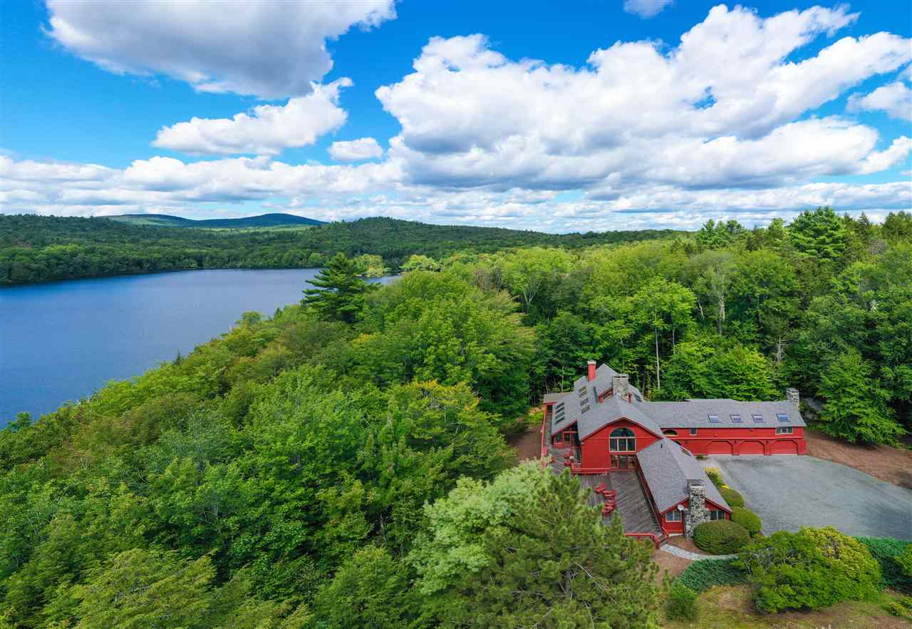 GRANTHAM NH Lake House for sale $$1,250,000 | $233 per sq.ft.