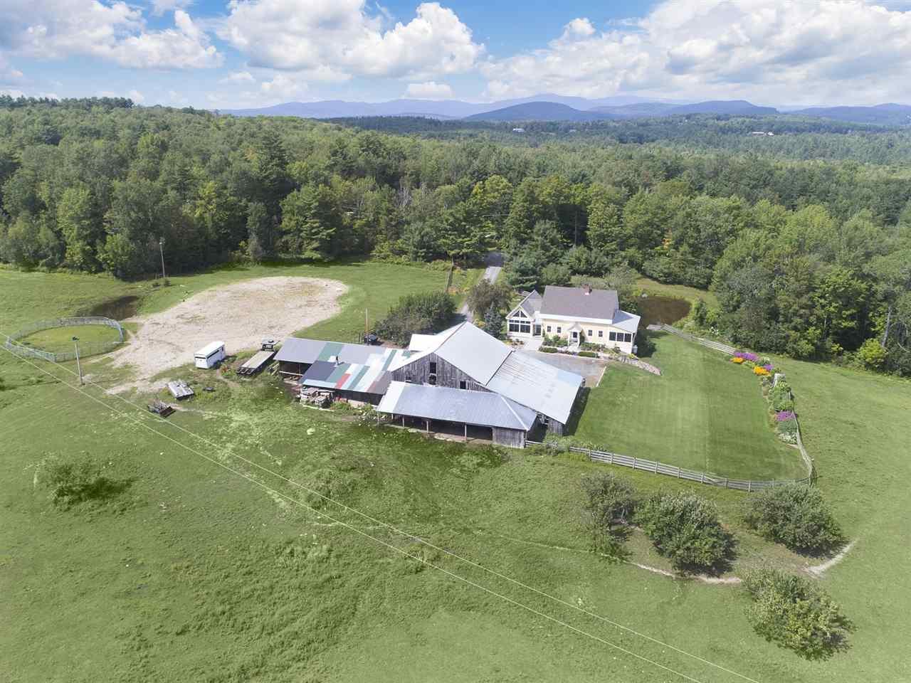 Newport NHHorse Farm | Property  on Private pond