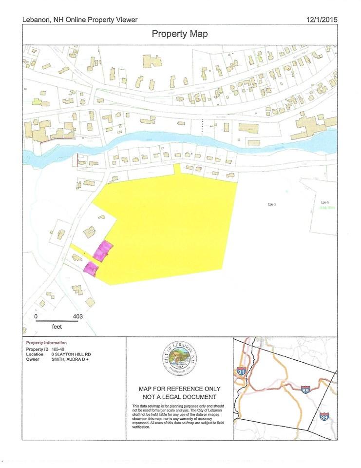 LEBANON NHLAND  for sale $$350,000 | 26.86 Acres  | Price Per Acre $0