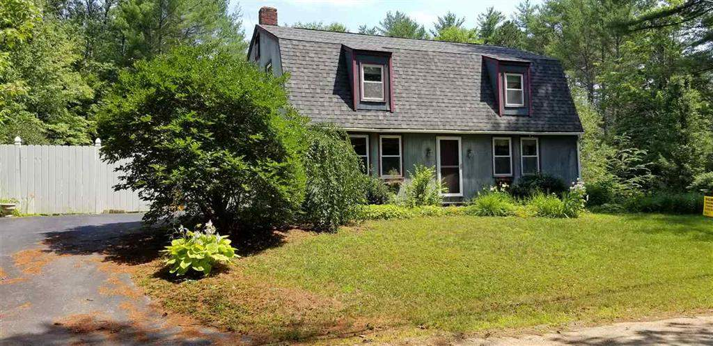 SANBORNTON NH  Home for sale $199,000