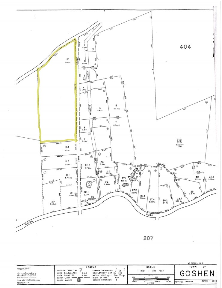 Goshen NH 03752 Land for sale $List Price is $109,900