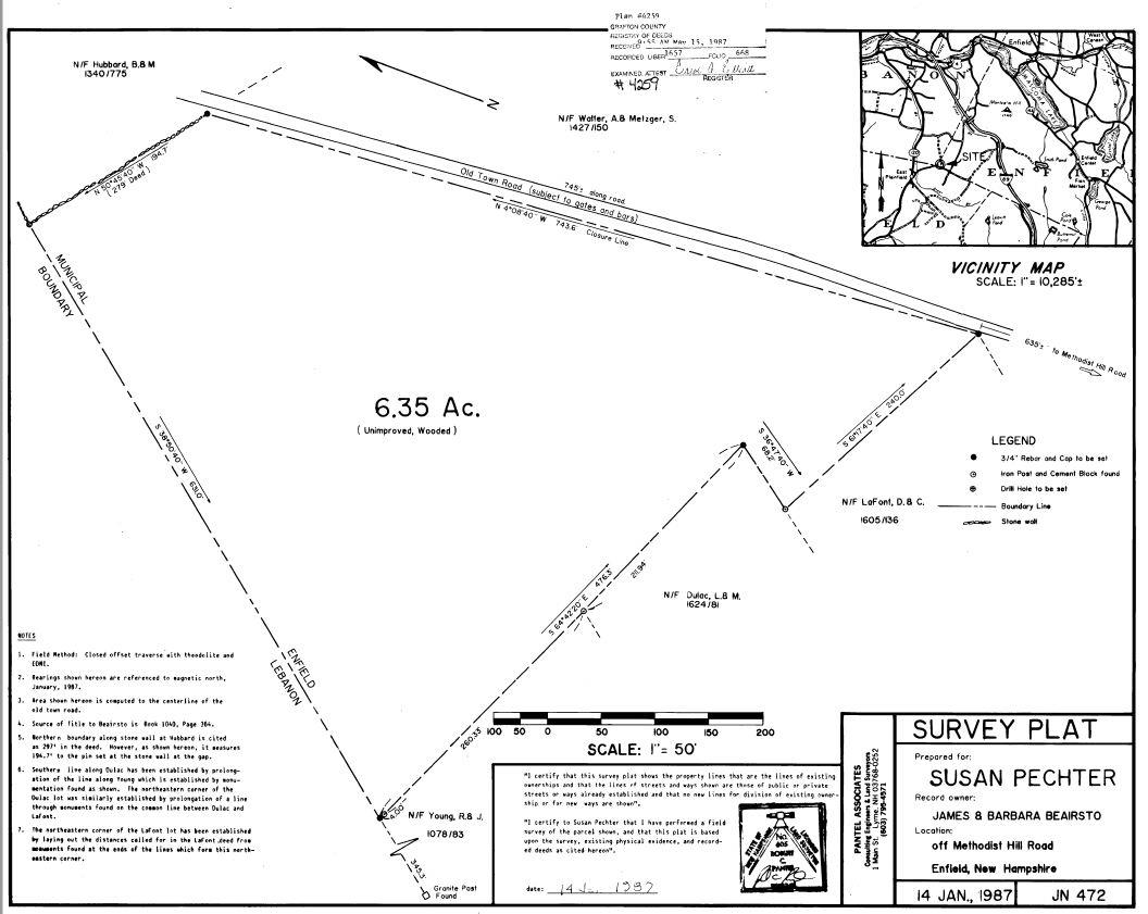 ENFIELD NH LAND  for sale $$39,900 | 6.6 Acres  | Price Per Acre $0