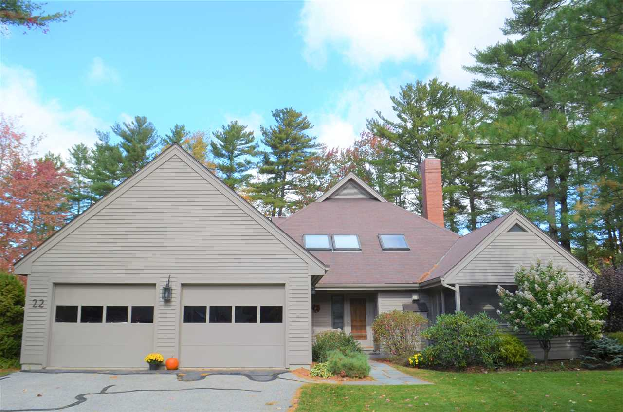 New London NH Lake Pleasant waterfront home for sale