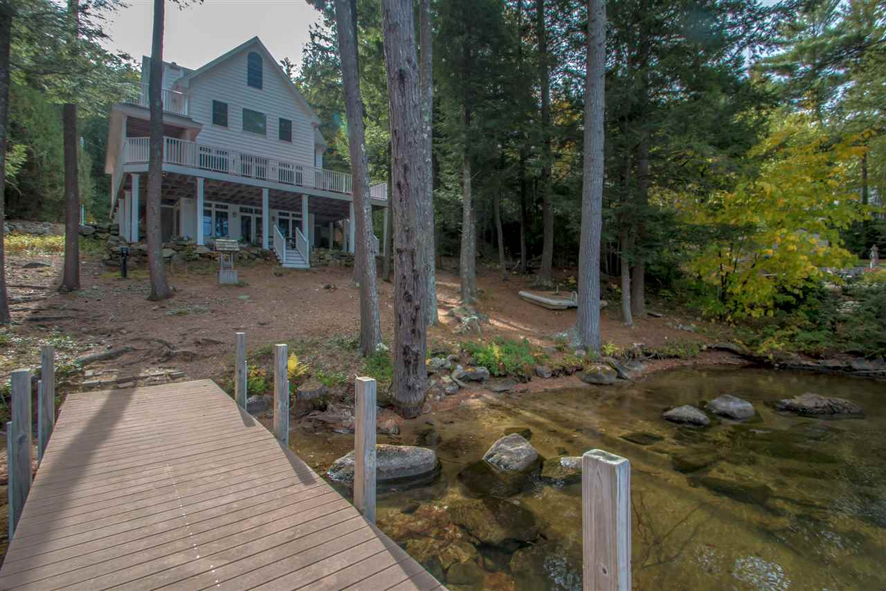 Lake Lovell waterfront home for sale in Wakefield