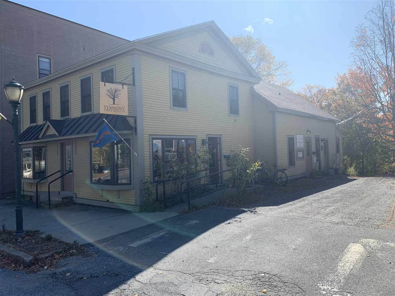 Ideal Main Street Bristol village location with this stand alone mixed business building.