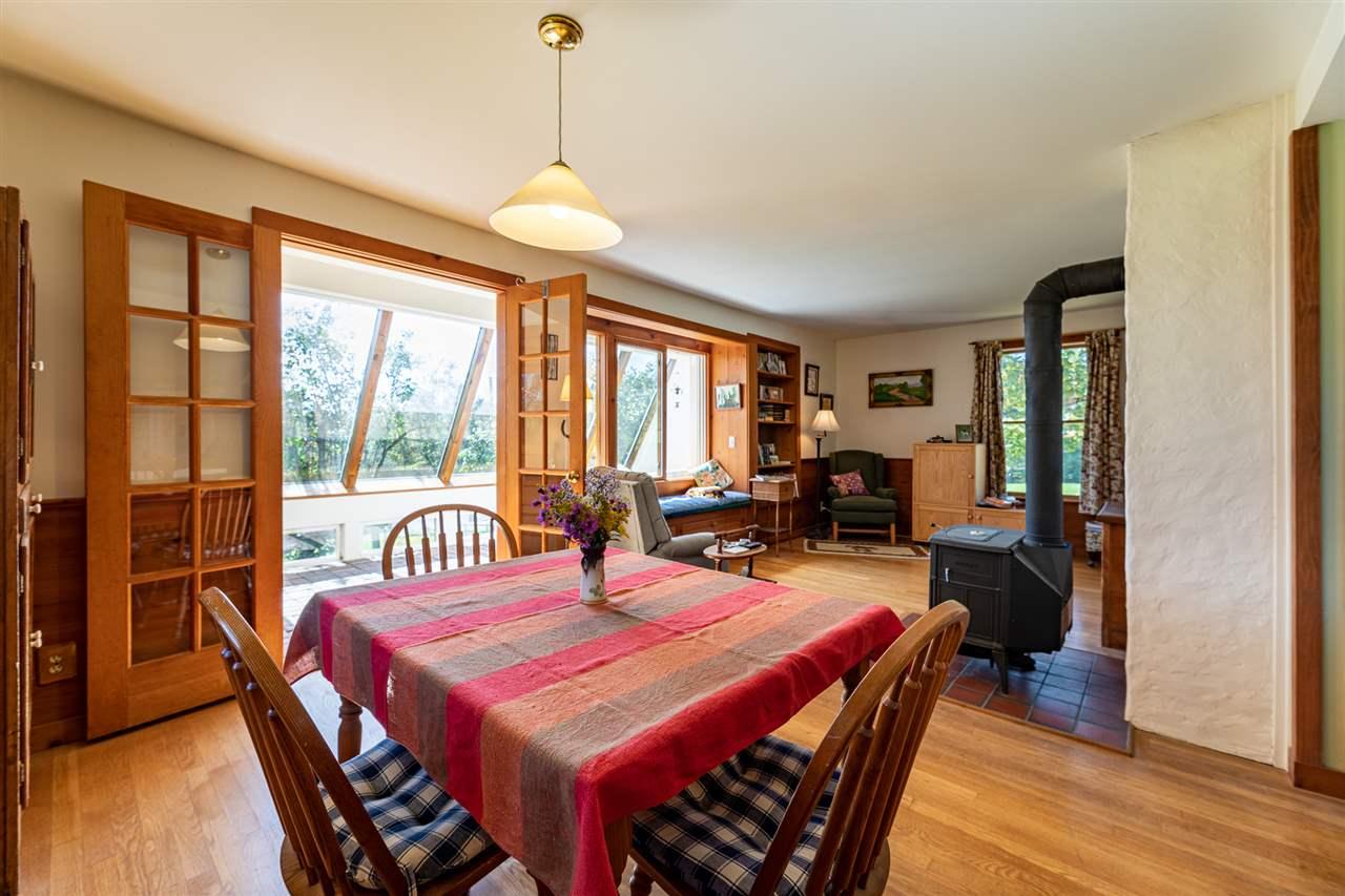 Dining Area, LR and Sunroom