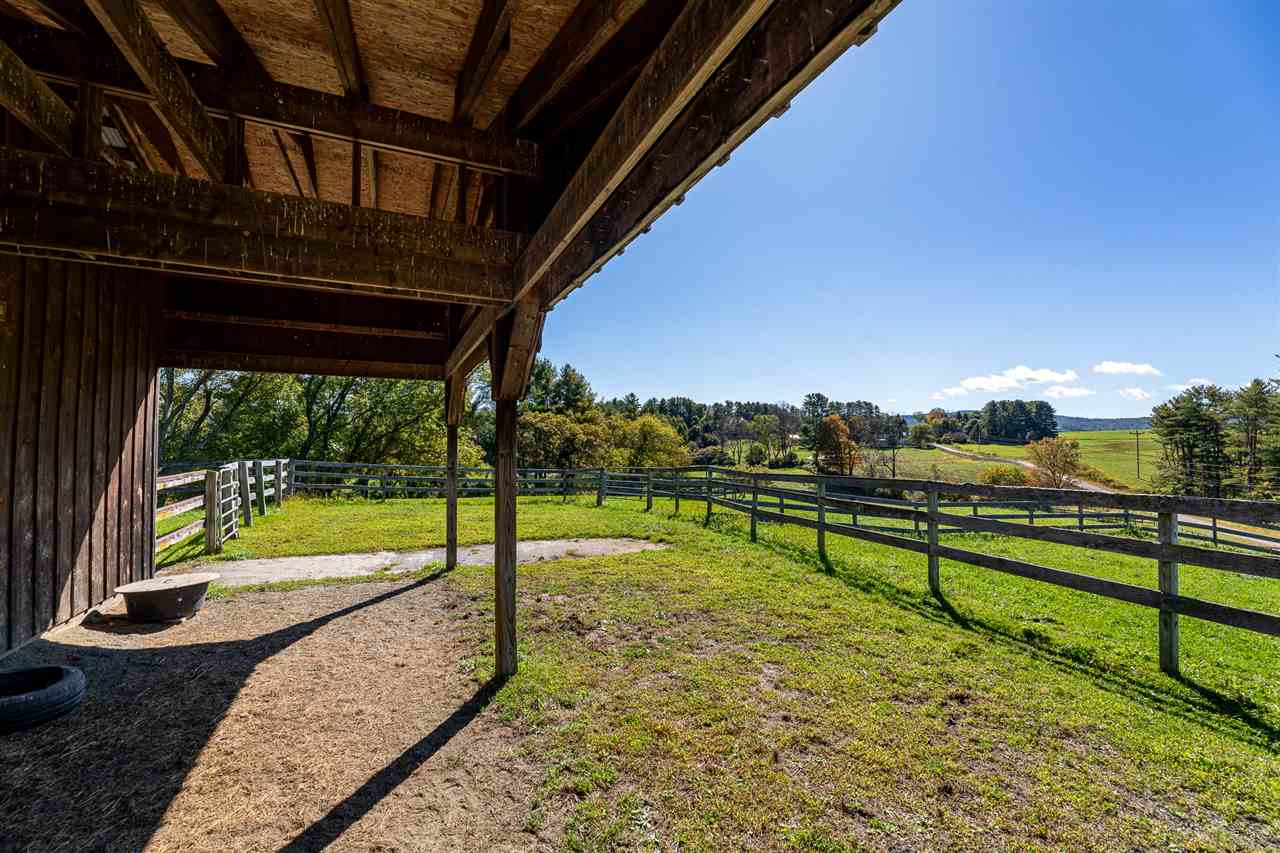 Stable Looking out Toward Top Pasture