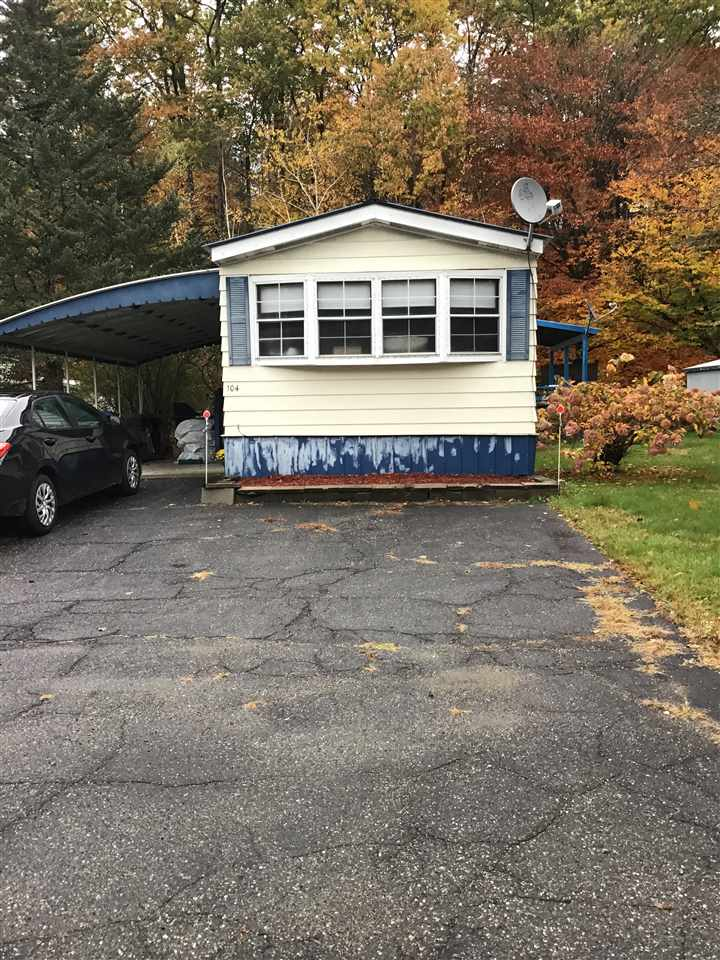 Village of White River Junction in Town of Hartford VT Mobile-Manufacured Home for sale $List Price is $34,900