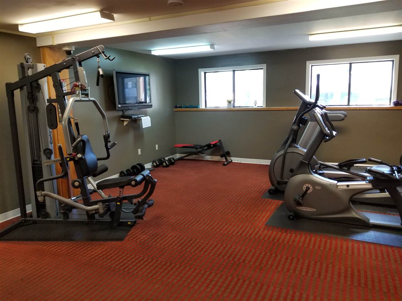 Exercise Area in Community Center
