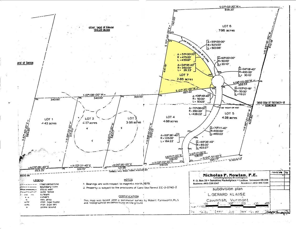 VILLAGE OF PROCTORSVILLE IN TOWN OF CAVENDISH VTLand / Acres for sale