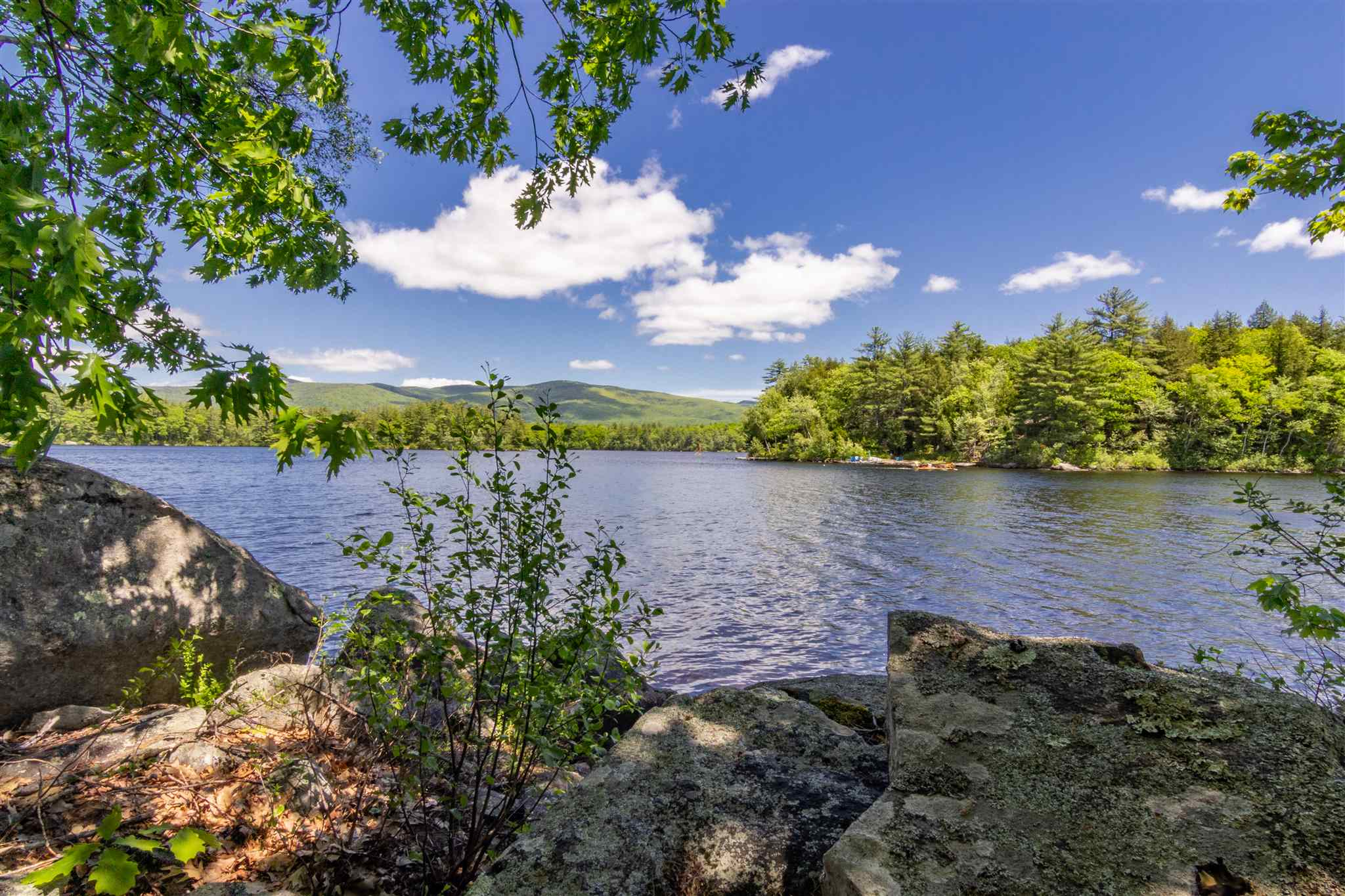 Pond Lees waterfront home for sale in Moultonborough