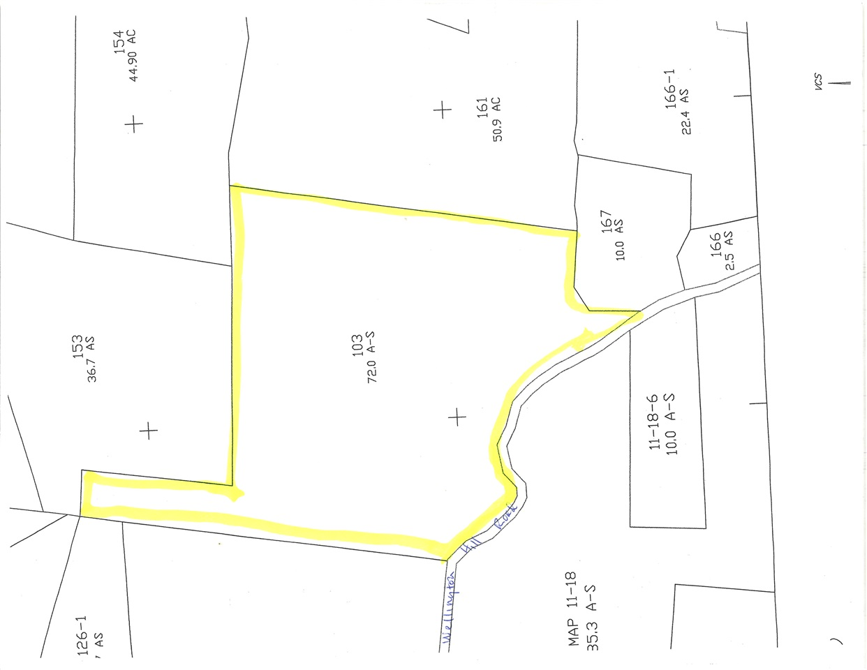 WESTMINSTER VTLAND  for sale $$92,000 | 72 Acres  | Price Per Acre $0  | Total Lots 7