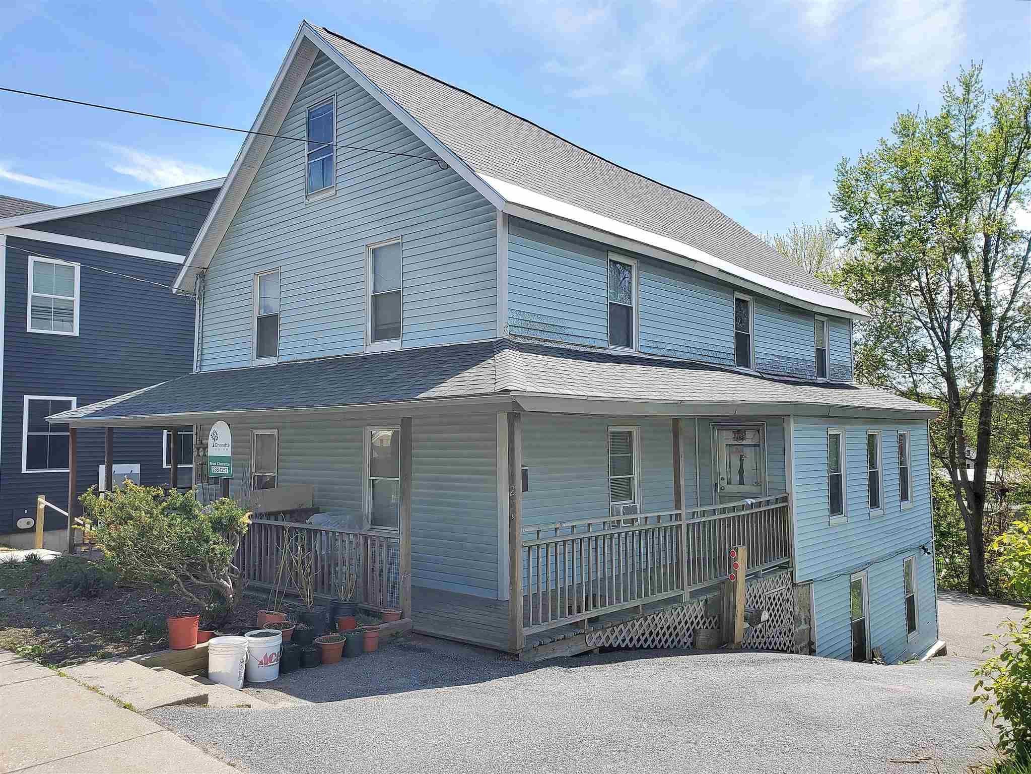 """Located in the area of Winooski primed to see the next wave of rejuvenation, this 3-unit multifamily residence has much to offer. Within the new """"forms Based"""" zoning code that will spark investment. Walk to the thriving downtown dining and night life. Nearby dog park and scenic cascades river walk will be sure to attract owners and tenants. All utilities metered separately helps keep owners' expenses lower. Updated efficient heating and hot water systems in place.  Plenty of on-site off-street parking for the residents to enjoy. Newer roof shingles recently installed for peace of mind. """"Run the numbers"""" and you'll like what you find!"""